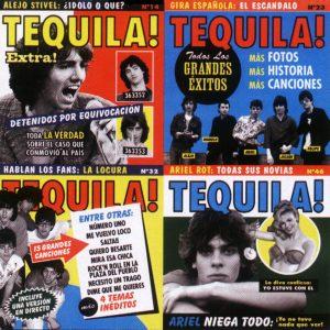 portada del disco Tequila Forever