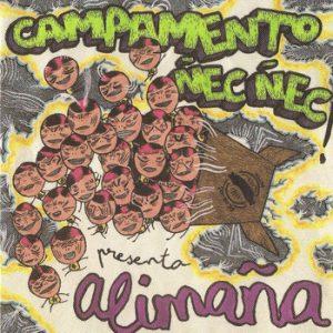 portada del disco Presenta Alimaña