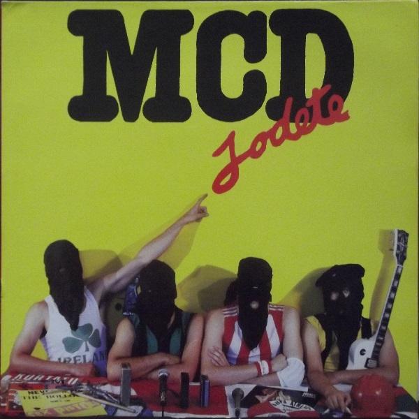 portada del album Jódete
