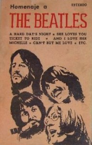 portada del disco Homenaje a Los Beatles