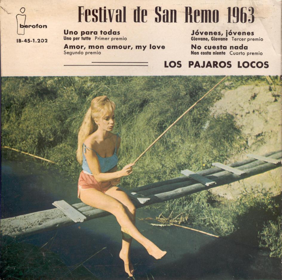 portada del disco Festival de San Remo 1963