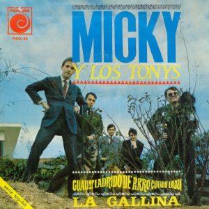 portada del disco La Gallina