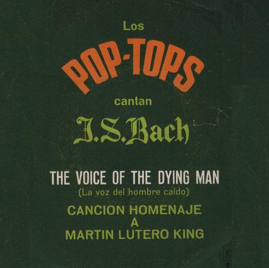 portada del disco Pop-Tops Cantan J.S.Bach