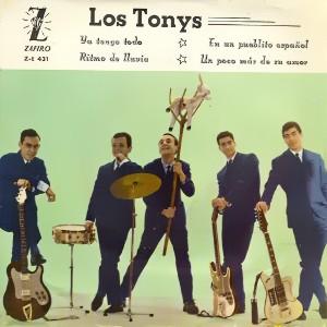 portada del disco Ya Tengo Todo / En un Pueblecito Español / Ritmo de la Lluvia / Un Poco Más de su Amor