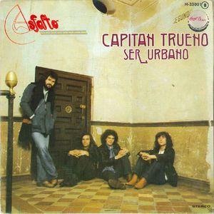 portada del disco Capitán Trueno / Ser Urbano