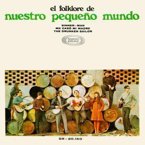 portada del disco El Folklore de Nuestro Pequeño Mundo