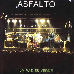 portada del disco La Paz es Verde / Justo y Traidor