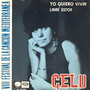portada del disco VIII Festival de la Canción Mediterránea