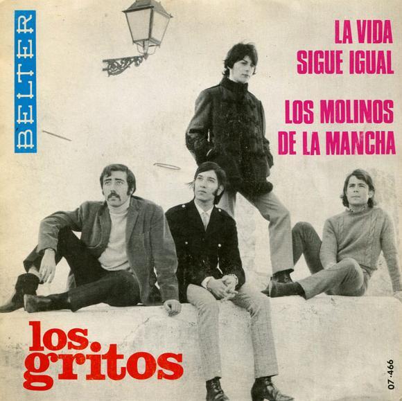 portada del disco La Vida Sigue Igual / Los Molinos de La Mancha