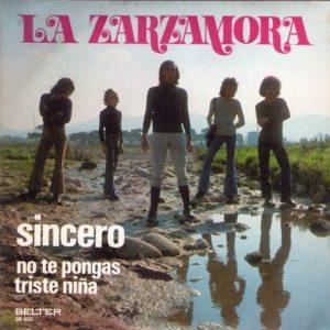 portada del disco Sincero
