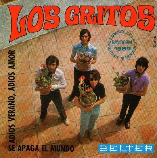 portada del disco 10 Festival de la Canción Española Benidorm 1969