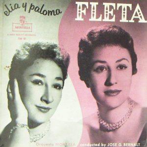 portada del disco Elia y Paloma Fleta