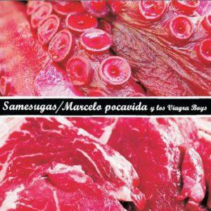 portada del disco Samesugas / Marcelo Pocavida y Los Viagra Boys