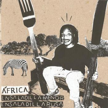 portada del album África / Ensaladilla Menor / Utensilios Para el Almuerzo