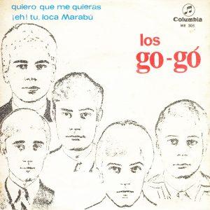 portada del disco Quiero que me Quieras / ¡ Hey, Tú !  Loca Marabú