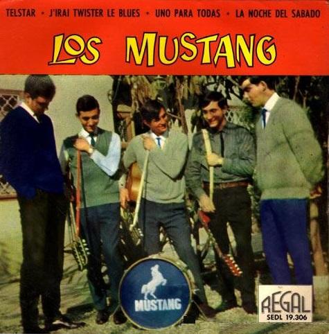 portada del disco Telstar / J'Irai Twister le Blues / Uno para Todas / La Noche del Sábado