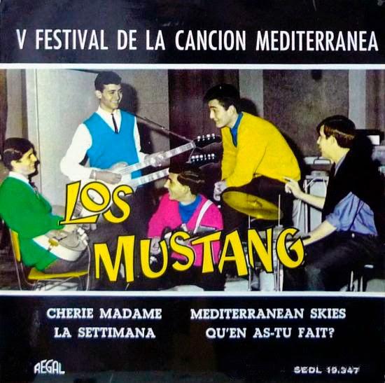 portada del disco V Festival de la Canción Mediterránea