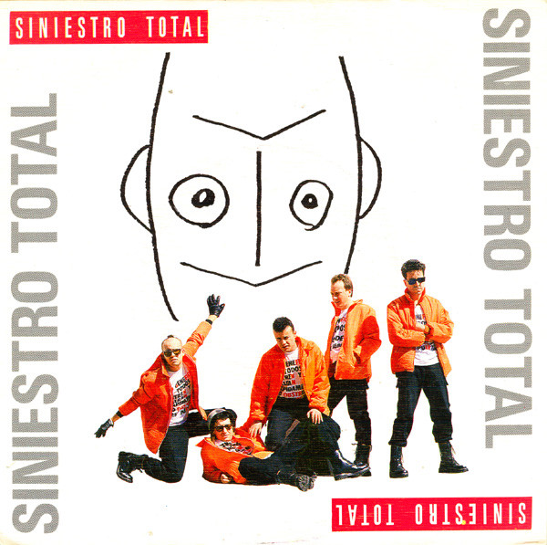 portada del album Siniestro Total / La Sociedad es la Culpable