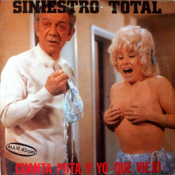 portada del album Cuánta Puta y yo qué Viejo