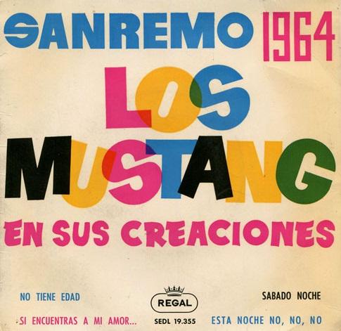 portada del disco San Remo 1964