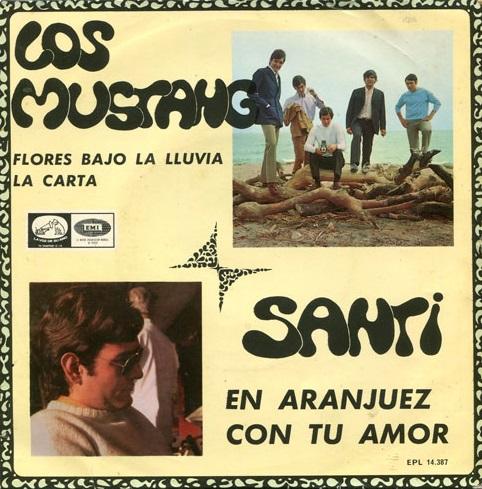 portada del disco Los Mustang - Santi