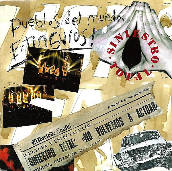 portada del album Pueblos del Mundo, Extinguios!