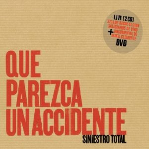 portada del disco Que Parezca un Accidente