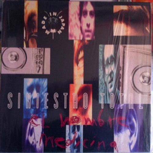 portada del album El Hombre Medicina