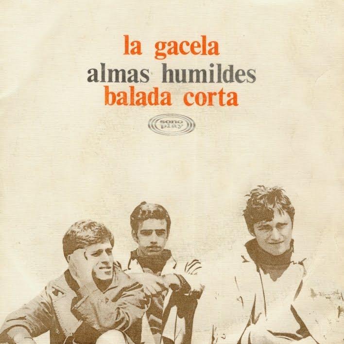 portada del disco La Gacela / Balada Corta