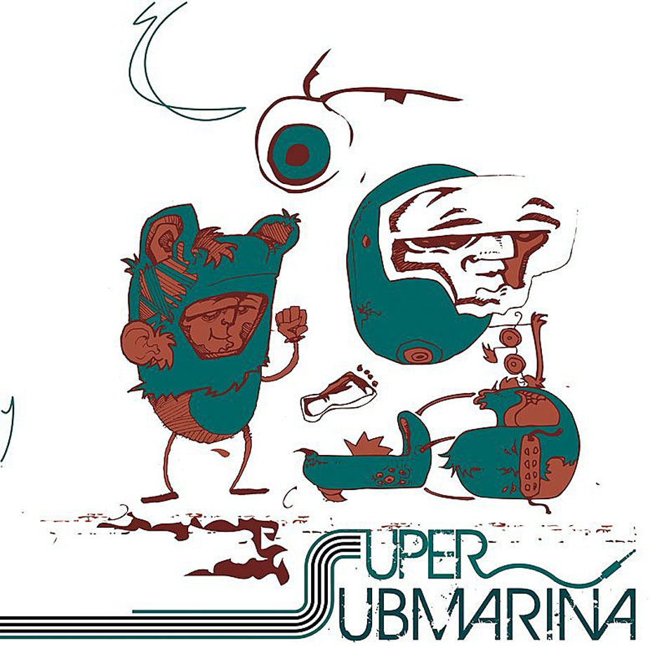 portada del album Supersubmarina