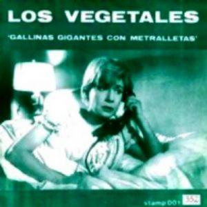 portada del disco Gallinas Gigantes con Metralletas