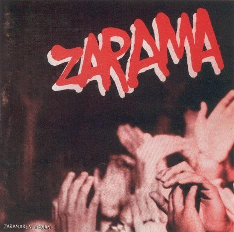 portada del album Zaramaren Erdian