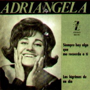portada del disco Siempre Hay Algo que Me Recuerda a Ti / Las Lágrimas de un Día