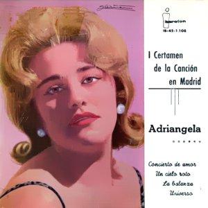 portada del disco I Certamen de la Canción de Madrid