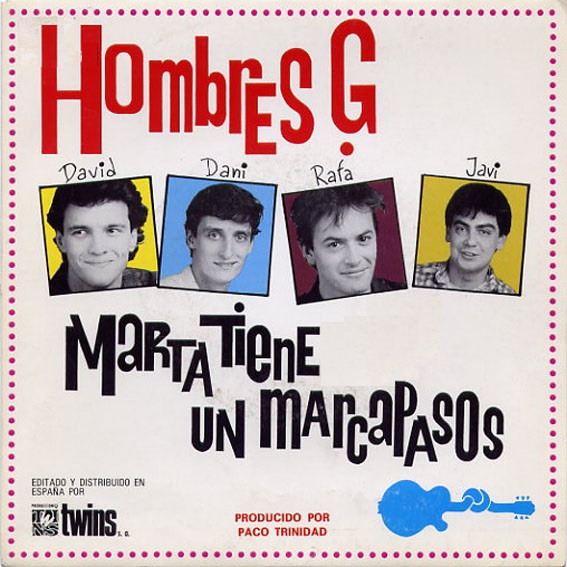 portada del disco Marta Tiene un Marcapasos