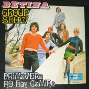 portada del disco Betina Group Show