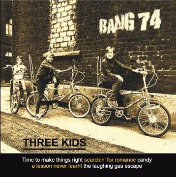 portada del disco Three Kids