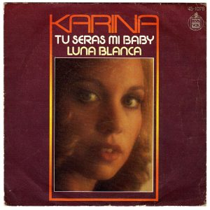 portada del disco Tú Serás mi Baby / Luna Blanca