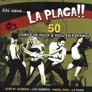 portada del disco Ahí Viene... La Plaga!!