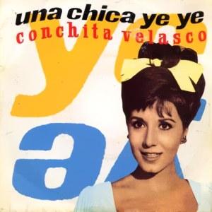 portada del disco Una Chica Ye Yé / Mamá, Quiero Ser Artista