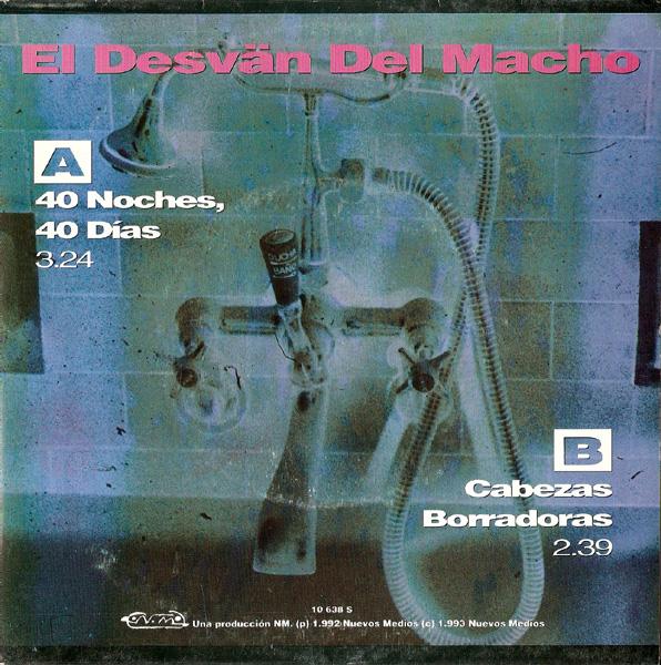 portada del album 40 Noches, 40 Días