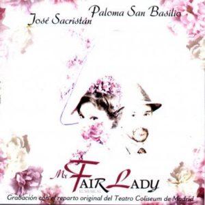 portada del disco My Fair Lady