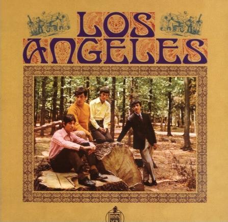 portada del disco Los Ángeles