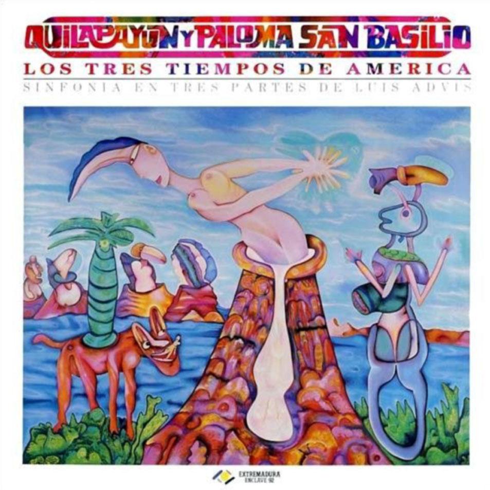 portada del disco Los Tres Tiempos de América