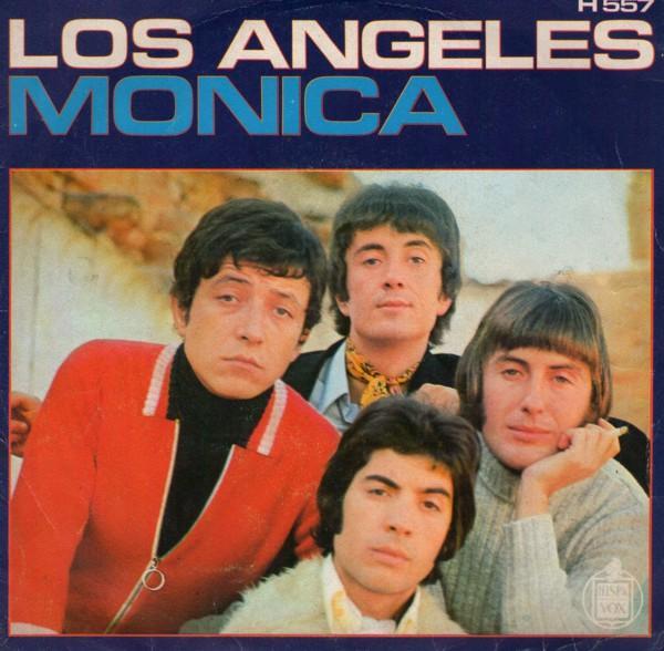 portada del disco Mónica