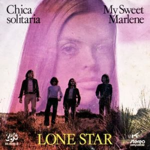 portada del disco Chica Solitaria / My Sweet Marlene