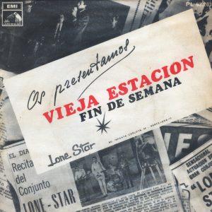 portada del disco Vieja Estación
