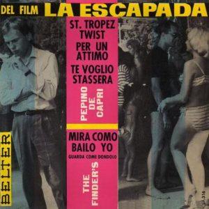 portada del disco Del Film La Escapada