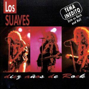 portada del disco Diez Años de Rock