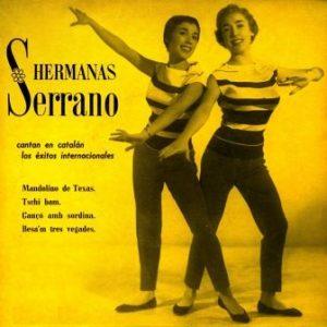 portada del disco Hermanas Serrano Cantan en Catalán los Éxitos Internacionales